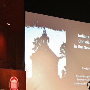 Dr. Ownby opens the 2015 Gilder Jordan Lecture