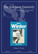 Image link for The Southern Quarterly - Special Issue on Governor William Winter page