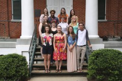 Our current second year class of MA students.