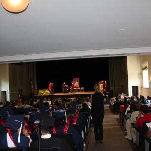 UM Graduate School ceremony
