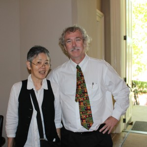 Yaeko Takeda with Ted Ownby
