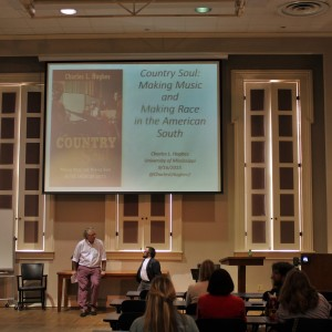 "Brown Bag Lecture by Charles L. Hughes: ""Country Soul: Making Music and Making Race in the American South"""