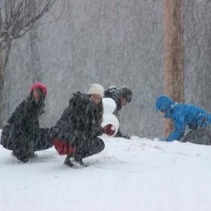 Marlen Polito, Snow Day, Oxford