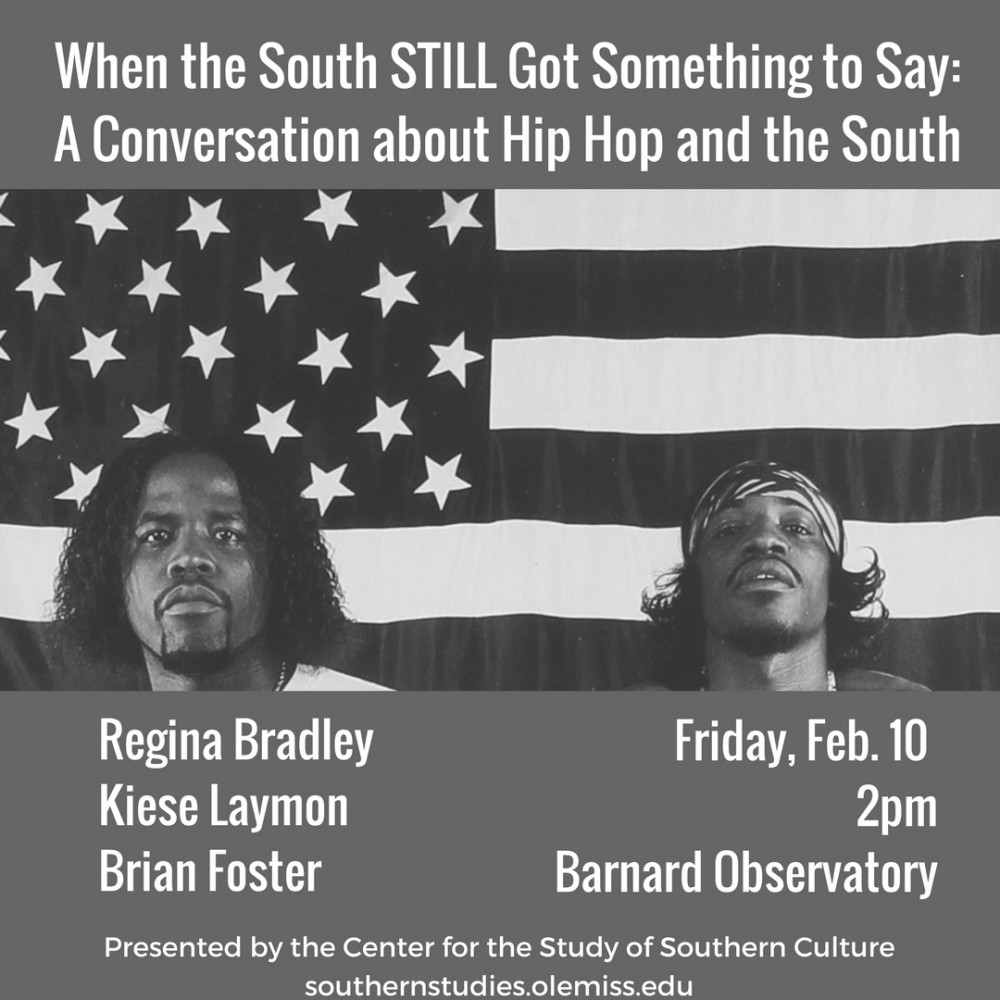 Hip Hop Conversatin Flyer