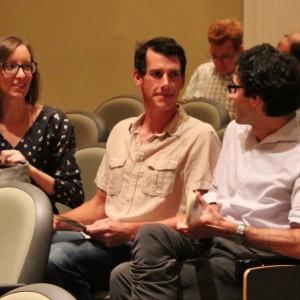 SST/History professor Jessie Wilkerson, Brian Sherry, friend.