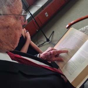 Governor Winter shows us an article he wrote about the Democratic primary in the University of Mississippi Law Journal in 1948.