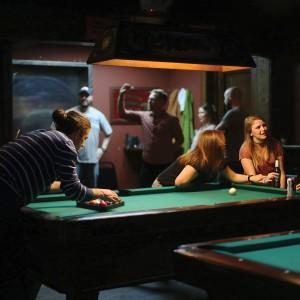 Oxford, Pool Game, Kristin Teston